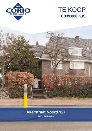 Brochure preview - Akerstraat Noord 127, 6413 JD HEERLEN (1)