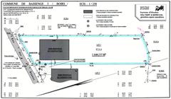 bouwgronden bassenge (b) - afmeting perceel 1