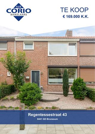 Brochure preview - Regentessestraat 43, 6441 GD BRUNSSUM (1)