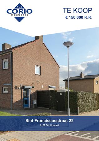 Brochure preview - Sint Franciscusstraat 22, 6129 GN URMOND (1)