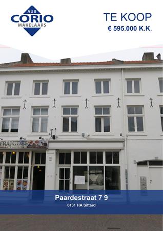 Brochure preview - Paardestraat 7-9, 6131 HA SITTARD (1)
