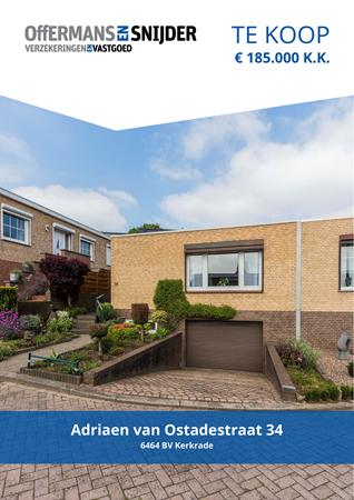 Brochure preview - Adriaen van Ostadestraat 34, 6464 BV KERKRADE (1)