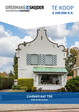 Brochure preview - Lindestraat 156, 6444 AS BRUNSSUM (1)