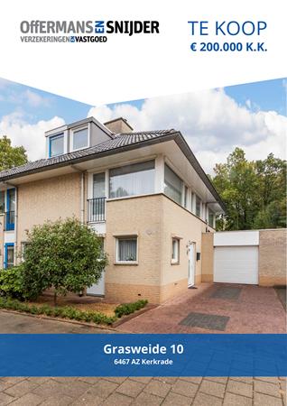 Brochure preview - Grasweide 10, 6467 AZ KERKRADE (1)