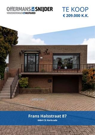Brochure preview - Frans Halsstraat 87, 6464 CG KERKRADE (1)