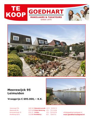 Brochure preview - complete brochure voor meerewijck 95 leimuiden