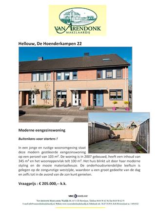 Brochure preview - verkoopbrochure_de_hoenderkampen_22_hellouw