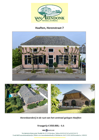 Brochure preview - verkoopbrochure_herenstraat_7_haaften