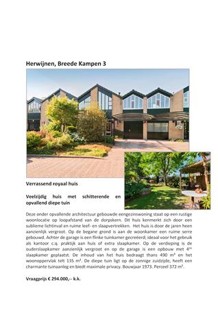 Brochure preview - verkoopbrochure_breede_kampen_3