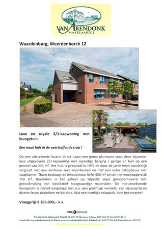 Brochure preview - verkoopbrochure_weerdenborch_12_waardenburg
