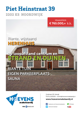 Brochure preview - piet heinstraat 39 - brochure