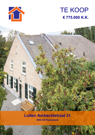 Brochure preview - Luiten Ambachtstraat 31, 4944 AS RAAMSDONK (2)