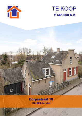 Brochure preview - Dorpsstraat 18, 4924 BE DRIMMELEN (2)