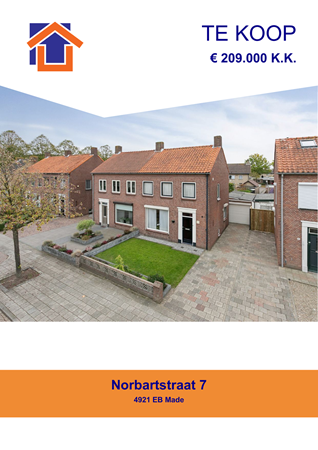 Brochure preview - Norbartstraat 7, 4921 EB MADE (2)