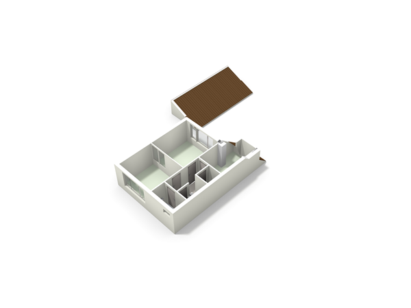 Floorplan - Paulus Potterstraat 25, 4715 BJ Rucphen