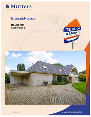 Brochure preview - Brochure Kersenhof 8 Heukelum.pdf