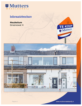 Brochure preview - brochure groenewal 4, heukelum