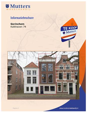 Brochure preview - brochure kalkhaven 74