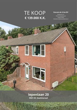 Brochure preview - Iepenlaan 20, 9501 HC STADSKANAAL (1)