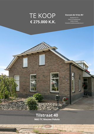 Brochure preview - Tilstraat 40, 9663 TC NIEUWE PEKELA (1)