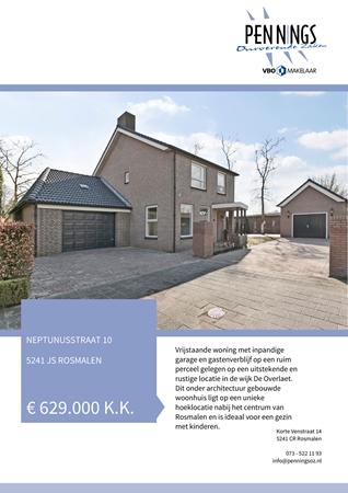 Brochure preview - Neptunusstraat 10, 5241 JS ROSMALEN (1)