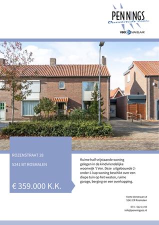 Brochure preview - Rozenstraat 28, 5241 BT ROSMALEN (1)