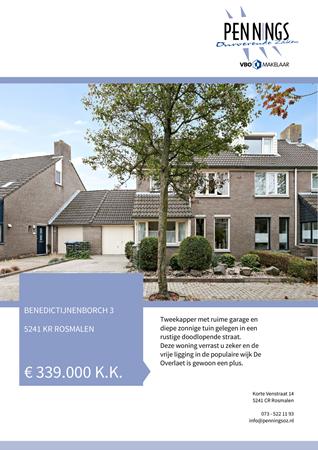Brochure preview - Benedictijnenborch 3, 5241 KR ROSMALEN (2)