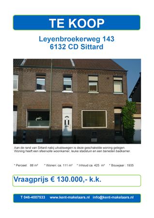 Brochure preview - leyenbroekerweg 143 , sittard