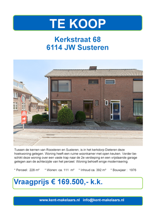 Brochure preview - kerkstraat 68 dieteren