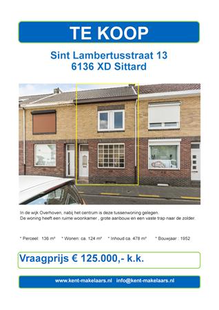 Brochure preview - sint lambertusstraat 13, sittard