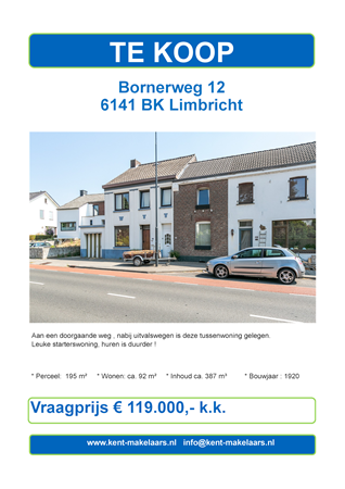 Brochure preview - bornerweg 12, limbricht