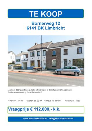 Brochure preview - bornerweg 12, limbricht