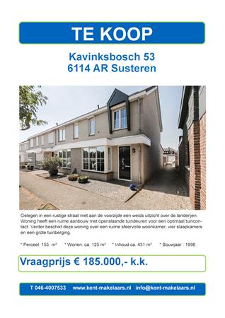 Brochure preview - kavinksbosch 53, susteren