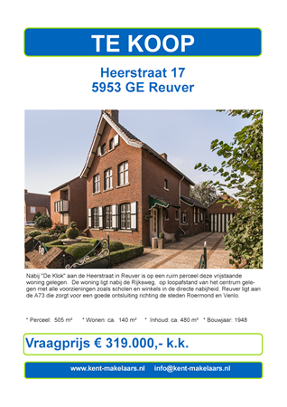 Brochure preview - heerstraat 17, reuver