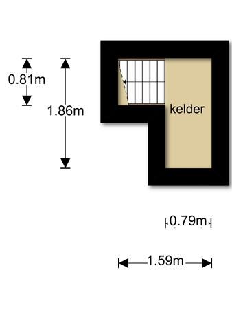 Floorplan - Strumenkampstraat 5, 6112 AS Sint Joost