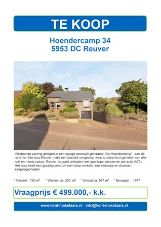 Brochure preview - hoendercamp 34, reuver_zp