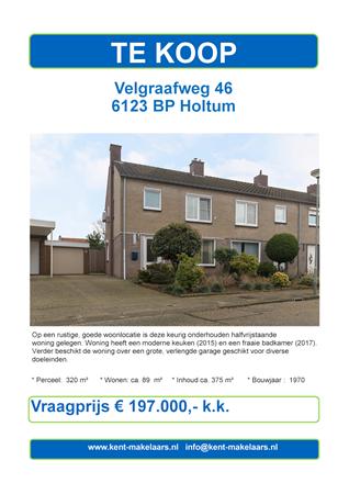 Brochure preview - velgraafweg 46 holtum