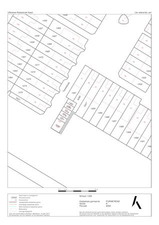 Floorplan - Tarwestraat 39, 1446 CA Purmerend