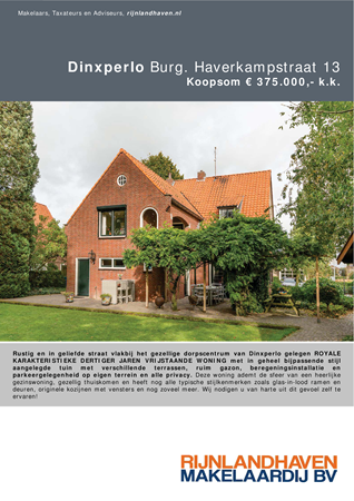 Brochure preview - dinxperlo, burghaverkampstr13_brochure.2018 (lowres)