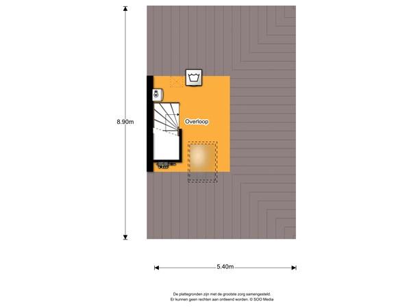 Floorplan - James Grievegaarde 2, 3824 BV Amersfoort