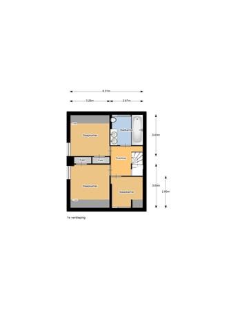 Floorplan - Boompjes 11, 3752 CE Bunschoten-Spakenburg