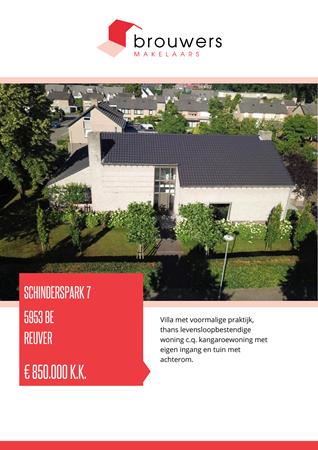 Brochure preview - Schinderspark 7, 5953 BE REUVER (1)