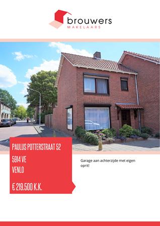 Brochure preview - Paulus Potterstraat 52, 5914 VE VENLO (2)