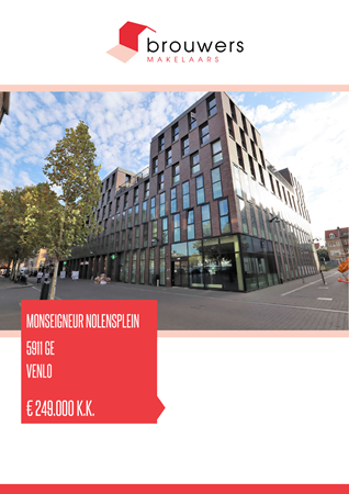 Brochure preview - Monseigneur Nolensplein 19, 5911 GE VENLO (1)