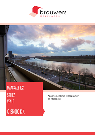 Brochure preview - Maaskade 102, 5911 EZ VENLO (1)
