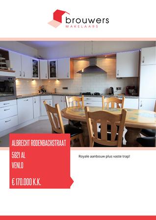 Brochure preview - Albrecht Rodenbachstraat 8, 5921 AL VENLO (1)