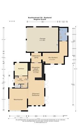 Floorplan - Buelterstraat 59, 5927 NL Venlo