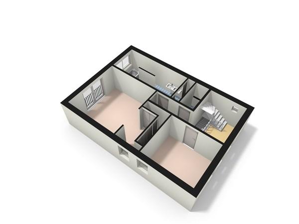 Floorplan - Lottumseweg 54b, 5971 BX Grubbenvorst