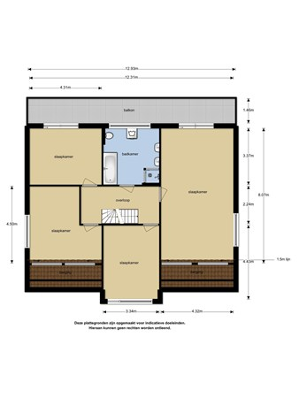 Floorplan - Watermunt 85, 5931 TE Tegelen