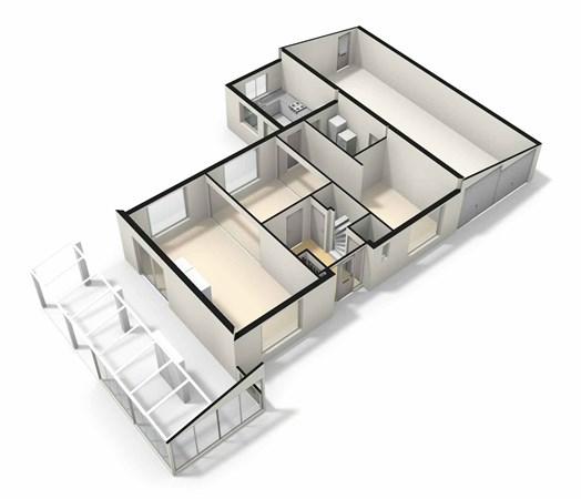 Floorplan - Cicerolaan 14, 5926 SR Venlo
